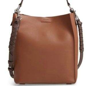 Women's Brown Voltaire Large Leather Tote
